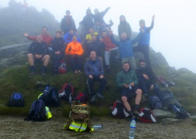Snowdon Sept 2014 at the top