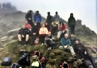 Snowdon Sept 2014 at the Summit