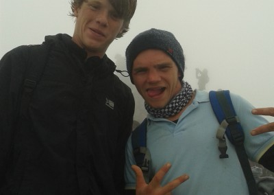 Aidan and Tim