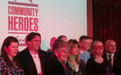 Award honours the Band of Brothers community