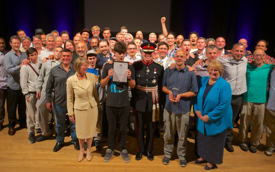 Brighton-based abandofbrothers celebrated Queen's Award for voluntary service