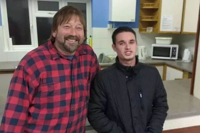 Mentee, George Ross tells his story to the Easbourne Herald