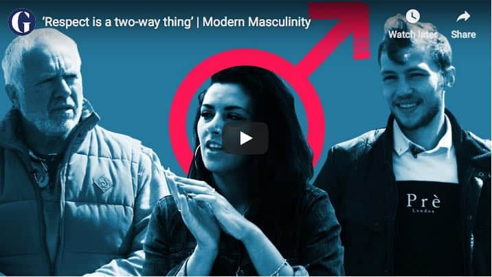 abandofbrothers featured in the Guardian's video series on 'Modern Masculinity'
